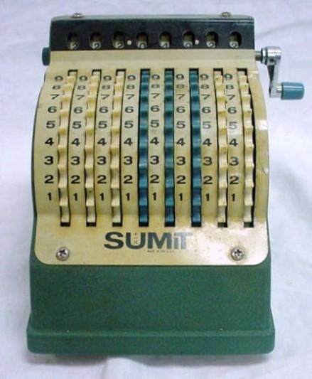 small adding machine